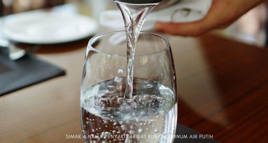 akibat kurang minum air putih