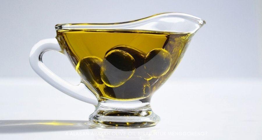 apakah olive oil bisa untuk menggoreng