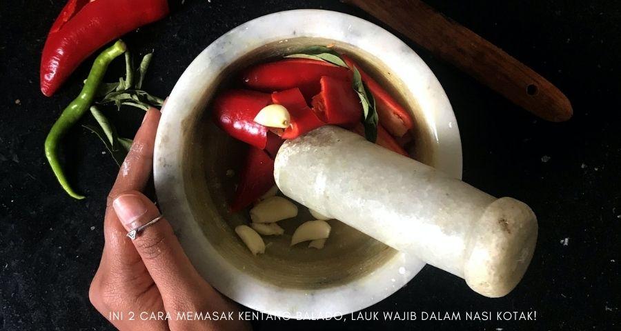 cara memasak kentang balado