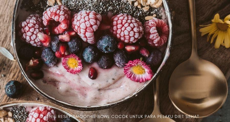 cara membuat smoothies bowl untuk diet
