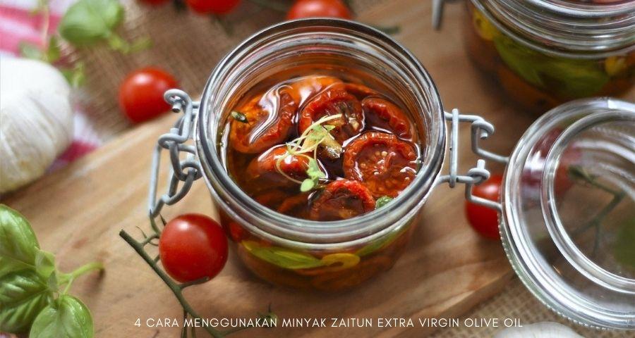 cara menggunakan minyak zaitun extra virgin olive oil