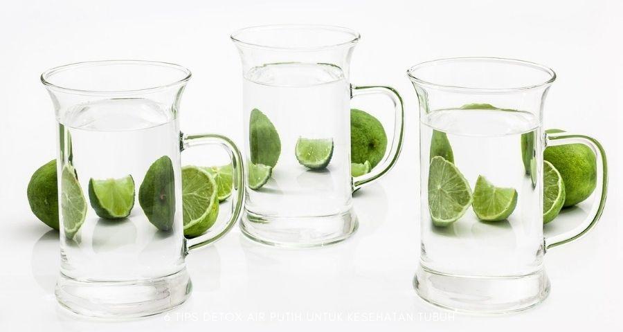 detox air putih