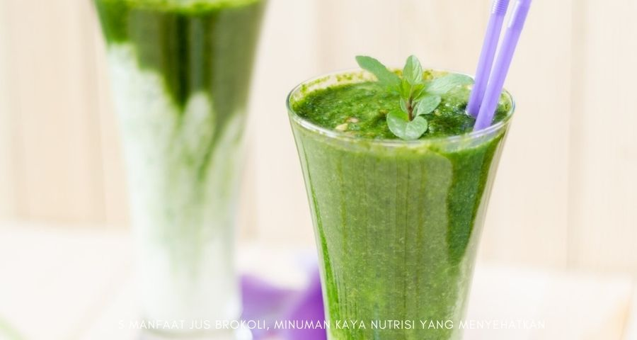 manfaat jus brokoli