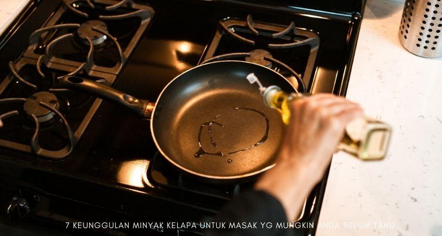 minyak kelapa untuk masak