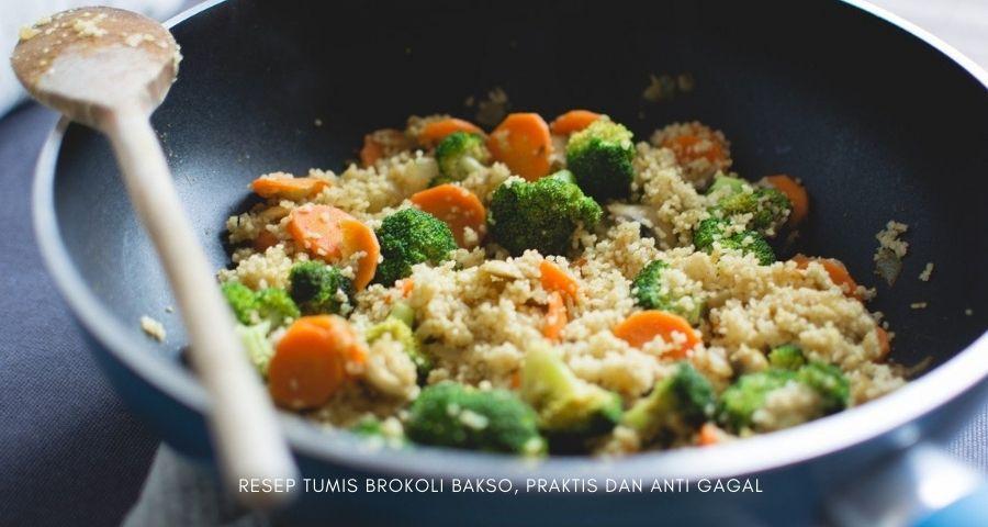 tumis brokoli wortel saus tiram