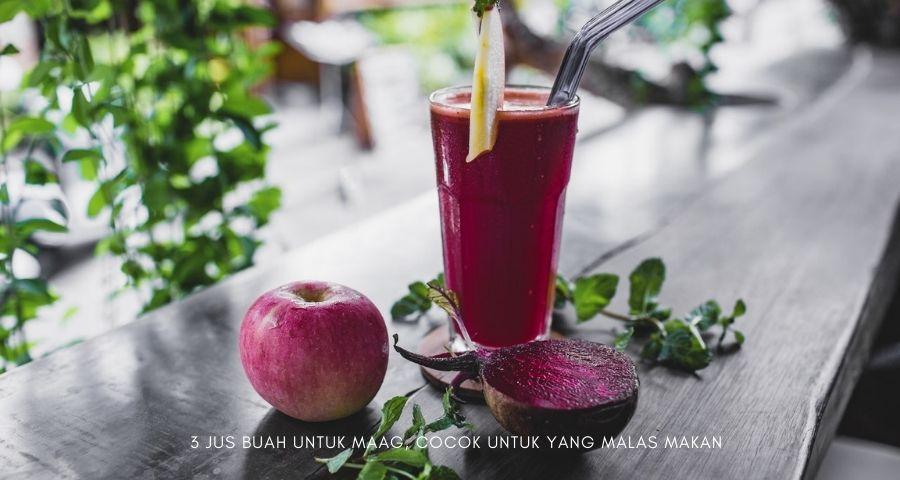 jus buah untuk maag