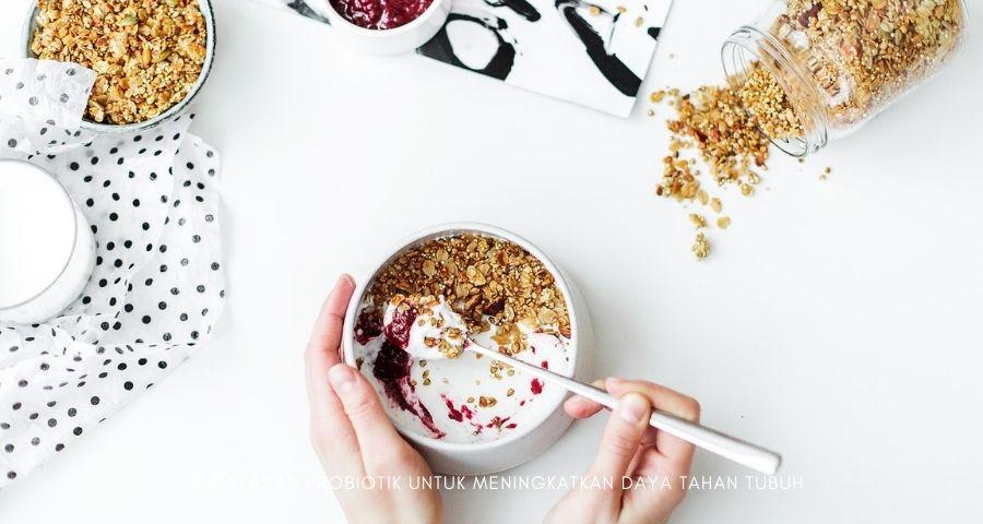 makanan probiotik untuk meningkatkan daya tahan tubuh