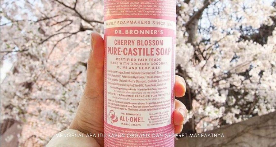 apa itu sabun organik
