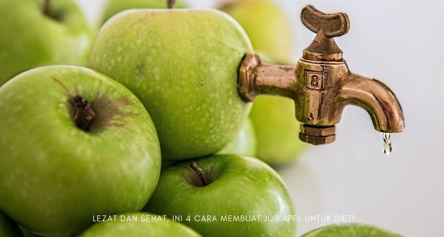 cara membuat jus apel untuk diet