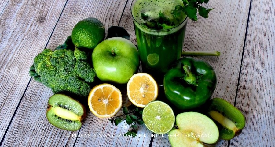 jus sayur organik