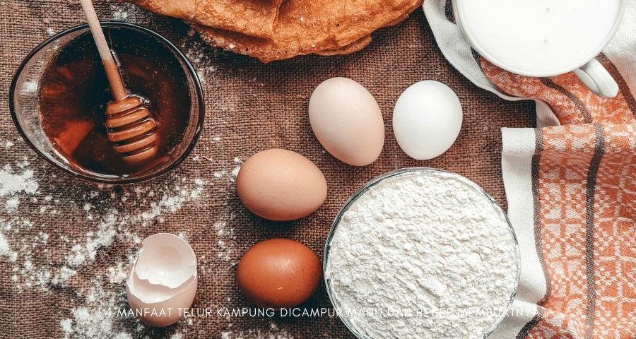 manfaat-telur-kampung-dicampur-madu
