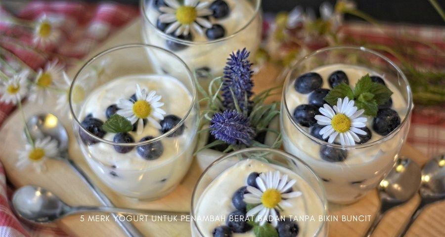 merk yogurt untuk penambah berat badan